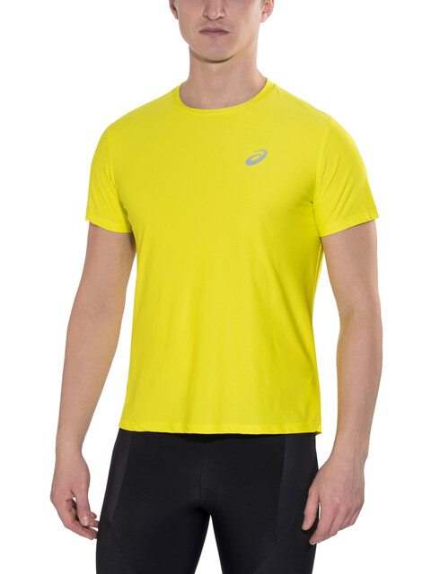 asics SS Top Running T-shirt Men yellow